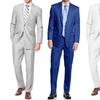 Men's Classic Fit Cotton & Linen Suits (2-Piece)