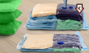 4 à 12 sacs rangement sous vide