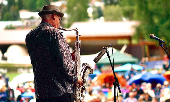 Telluride Jazz Festival - Telluride Town Park: Telluride Jazz Festival with Optional Camping on July 31–August 2 (Up to 50% Off)