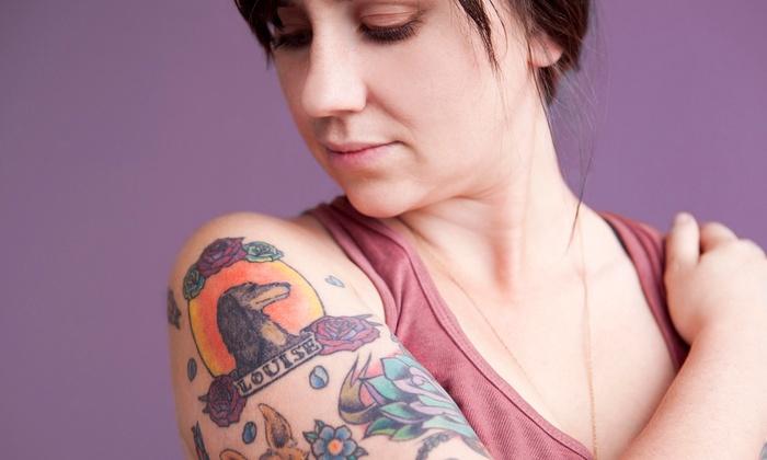 Broken Anchor Tattoo - Southeastern Sacramento: Medium or Large Tattoo at Broken Anchor Tattoo (Up to 60% Off)