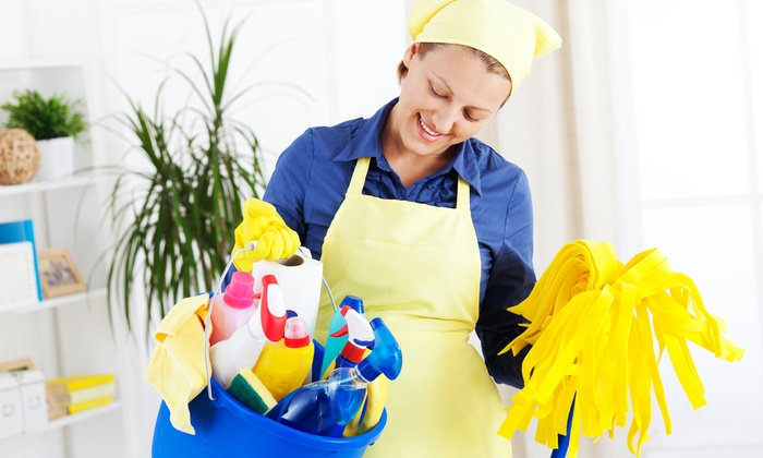Big Dipper Cleaning - Anchorage: Three Man-Hours of Housecleaning from Big Dipper Cleaning (55% Off)