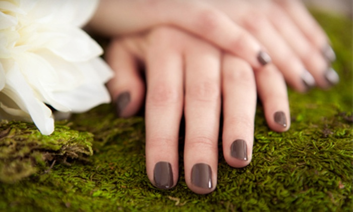 Becoming New - Egypt Lake-Leto: $38 for Two Shellac or Gelish Manicures or Two 60-Minute Spa Mani-Pedis at Becoming New (Up to $146 Value)