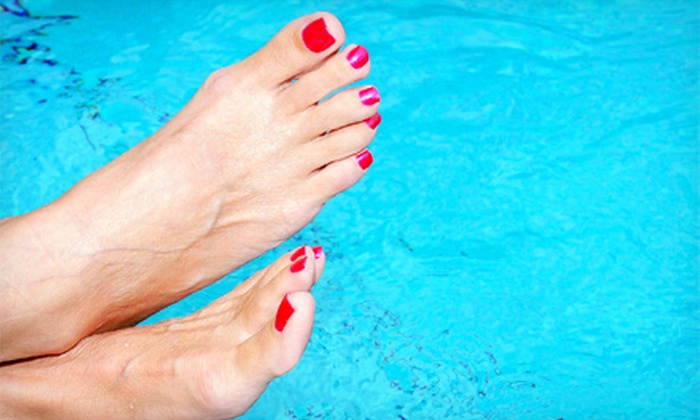 Angel Nails Deluxe - Northeast Virginia Beach: $27 for a Jelly Pedi at Angel Nails Deluxe ($55 Value)