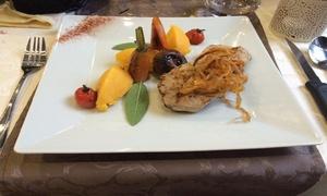 La Cascade d'Or: Lunch du chef en 2 services pour une découverte gustative au restaurant la Cascade d'Or à partir de 24,99€