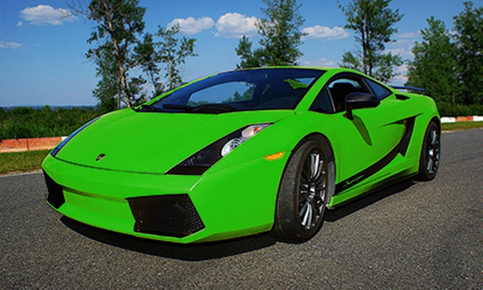Calabogie Motorsports Park - Calabogie Motorsport Park: $189 for Three Laps of Driving in a Lamborghini at Calabogie Motorsports Park ($499 Value). Four Dates Available.