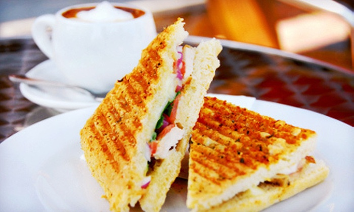 Fleur Tea House - Sandy Hill - Ottawa East - University of Ottawa Campus: Tea, Paninis, and Pastries for Two or More or Four or More at Fleur Tea House (Up to 53% Off)