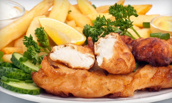 Claddagh Irish Pub - Livonia: Dinner for Two or Four or $15 for $30 Worth of Pub Food and Drinks at Claddagh Irish Pub