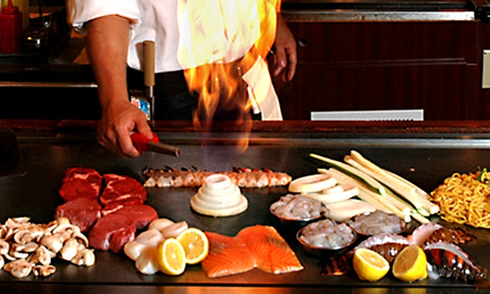 Fuji Steakhouse - Edgewater: Japanese Food for Two or Four at Fuji Steakhouse (Up to 42% Off)