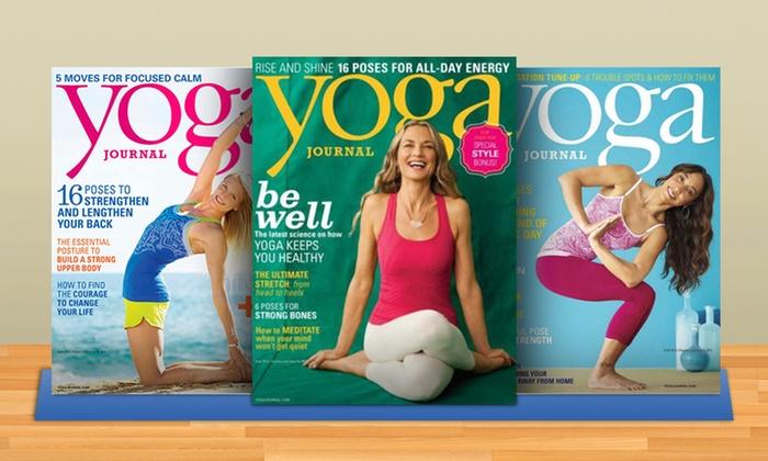 Yoga Journal Magazine: One-Year, Nine-Issue Subscription to Yoga Journal Magazine