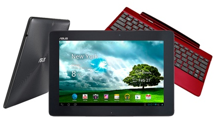 ASUS TF300T Transformer Pad Tablet with Optional Keyboard (Manufacturer Refurbished) from $199.99–$239.99. Free Returns.