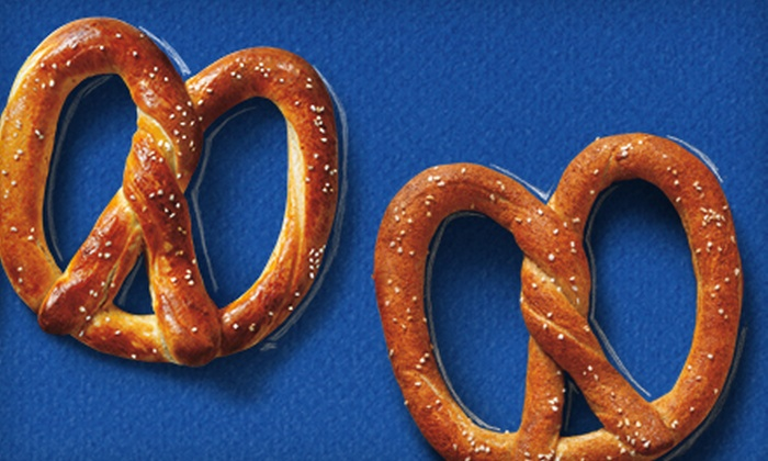 Auntie Anne's - Stanford University: Four or Eight Signature Pretzels at Auntie Anne's (54% Off)