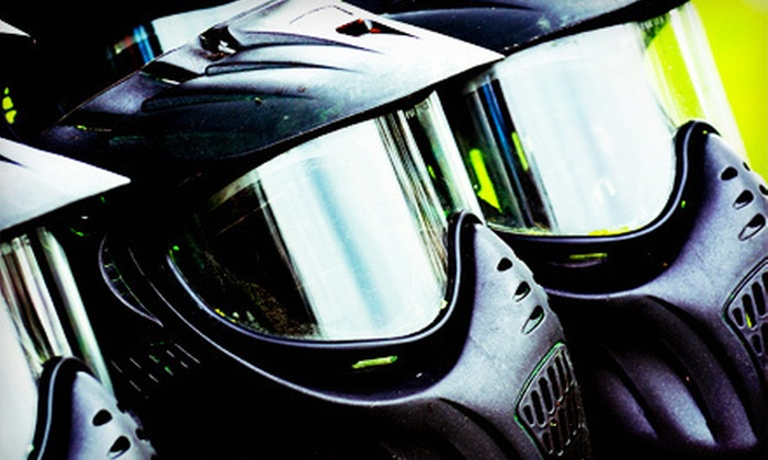 Splat Paintball Park - Splat Paintball Park: $22 for a Paintball Package for One with Gear Rental and 500 Paintballs at Splat Paintball Park ($60 Value)