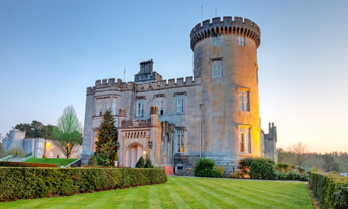 Luxury Dromoland Castle Vacation with Rental Car and Airfare - Irish Countryside : 8-Day Ireland 4-Star Hotel and Dromoland Vacation with Airfare and Rental Car. Price/Person Based on Double Occupancy.