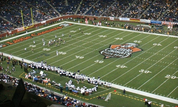 Little Caesars Pizza Bowl - Ford Field: Central Michigan vs. Western Kentucky in Little Caesars Pizza Bowl Game at Ford Field on December 26 (Up to 40% Off)