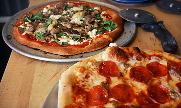 Fresh Wood Fired Pizza and Pasta - Black Mountain: Italian Cuisine at Fresh Wood Fired Pizza and Pasta (Half Off). Two Options Available.