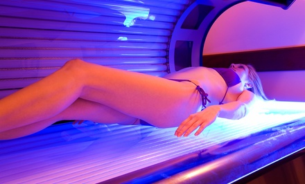 5 or 10 Tanning-Bed Sessions, or One Month of Unlimited Tanning-Bed Sessions at Belle Fiole Tanning (50% Off)