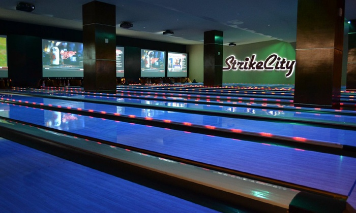StrikeCity - Strike City Bowling: Pro-Football Event Packages, Including Opening Day or Any Sunday or Monday Game, at StrikeCity (Up to 69% Off)