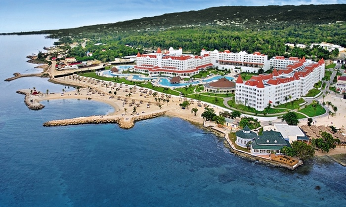 Grand Bahia Principe Jamaica Vacation with Airfare from Travel by Jen - Grand Bahia Principe Jamaica: Grand Bahia Principe Jamaica Stay with Airfare. Includes Taxes and Fees. Price Per Person Based on Double Occupancy.
