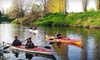 The Outdoor Adventure Center - Multiple Locations: Redhook River Kayak Tour or Lopez Island Sea Kayak Tour for One or Two from Outdoor Adventure Center (Up to 44% Off)