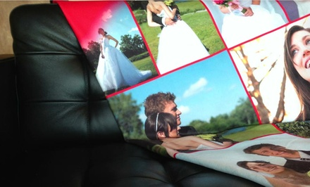 Customized Collage Blanket from Collage.com from $39.99–$49.99