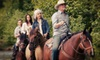 Equine Blvd. - Agawam Town: $45 for a Horseback Halloween Event for Four at Equine Boulevard ($90 Value)