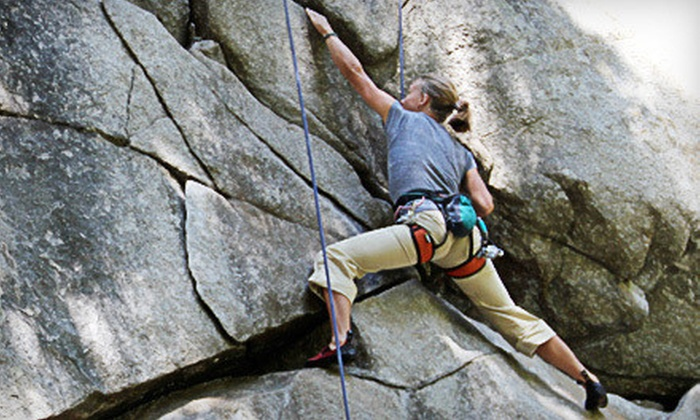 Treks and Tracks - Multiple Locations: Beginners' Rock-Climbing Class for One, Two, or Four from Treks and Tracks (Up to 65% Off)