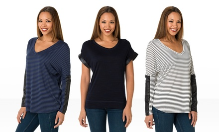 Seven7 Knit Tops. Multiple Styles Available.