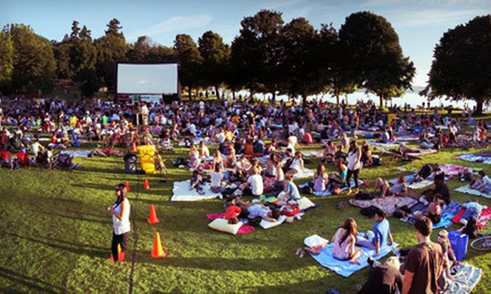 FreshAirCinema - Vancouver: $149 for a Backyard Outdoor Movie Package for Three Hours from FreshAirCinema ($499 Value)
