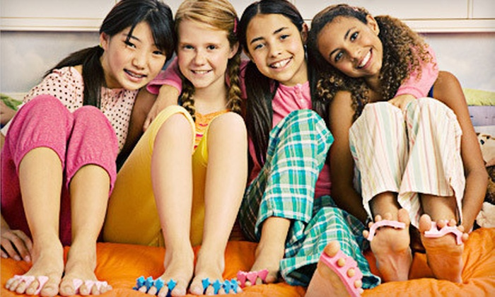 Sweet Pea Day Spa for Kids - Catonsville: Kids' Spa Visit with Mani-Pedi and Facial for One, Two, or Four at Sweet Pea Day Spa for Kids (Up to 54% Off)