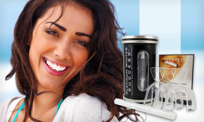 Platinum Whites Teeth-Whitening Kits: One or Two Platinum Whites Home Teeth-Whitening Kits (Up to 86% Off). Free Shipping.