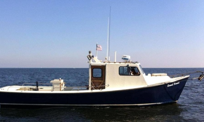 Sound Bound Fishing Charters - New Rochelle: $350 for a Four-Hour Private Fishing Charter for Up to Six People from Sound Bound Fishing Charters ($475 Value)