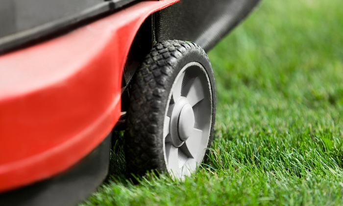 Bugle Lawn & Landscape, Inc. - Colorado Springs: Spring Lawn Aeration Package or Four Weeks of Lawn Mowing from Bugle Lawn & Landscape, Inc. (Up to 53% Off)