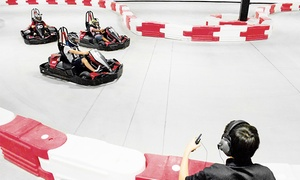 Up to 51% Off Go-Karting at Thunderbolt Indoor Karting at Thunderbolt Indoor Karting, plus 6.0% Cash Back from Ebates.