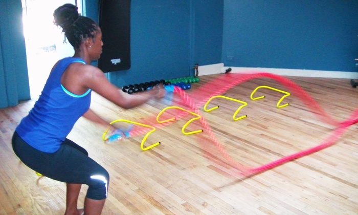 Vbody Power Fitness - West Rogers Park: Three or Five One-Hour Personal-Training Sessions at Vbody Power Fitness (Up to 82% Off)