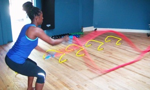 Vbody Power Fitness: Three or Five One-Hour Personal-Training Sessions at Vbody Power Fitness (Up to 82% Off)