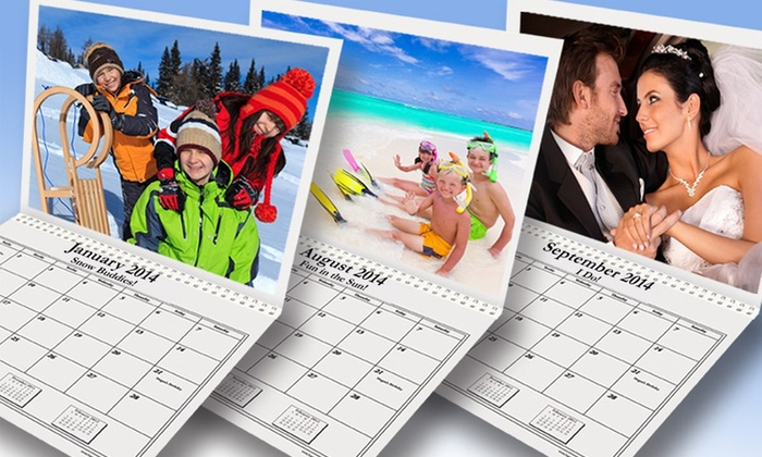 """Custom Photo Calendars: 8.5""""x11"""" Custom Photo Calendar from Happy Kids Productions, Inc. Free Shipping."""