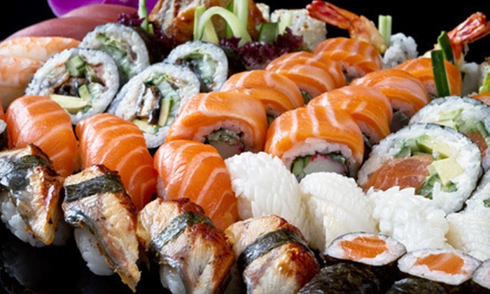 Kampai Sushi - Central West End: $12 for $25 Worth of Sushi and Asian Cuisine on Monday–Thursday or Friday–Saturday at Kampai Sushi