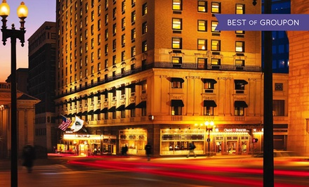 Stay at Omni Parker House in Boston, MA. Dates Available into April.