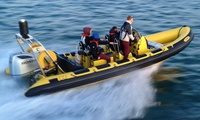 £40 for £100 Towards a Powerboat Course at Plymouth Powerboat School (Up to 60% Off)
