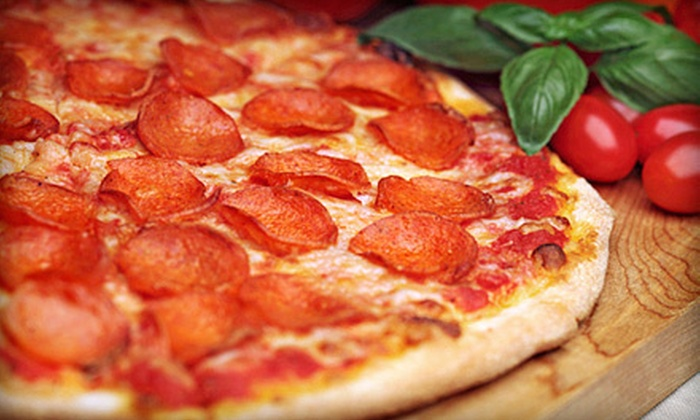 Lazzari's - Lincoln: $7 for an 18-Inch Single-Topping Pizza at Lazzari's ($15.95 Value)