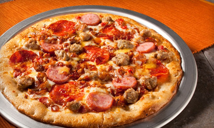 Top That! Pizza - Colorado Springs: $7 for $14 Worth of Pizza at Top That! Pizza