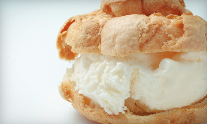 Beard Papa's - Multiple Locations: $8 for $16 Worth of Ice-Cream Puffs, Cream Puffs, and Mochi Ice Cream at Beard Papa's