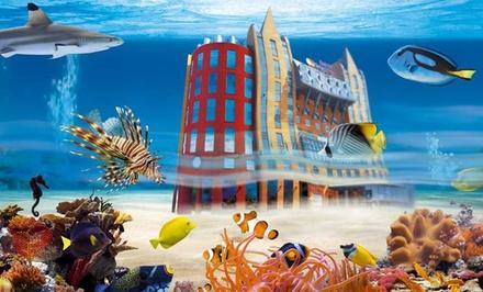 Bezoek de (w)onderwaterbewonders bij Aquatopia (vanaf € 9,30)
