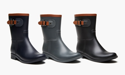 Sociology Women's Tanner Short Rain Boots | Groupon Exclusive