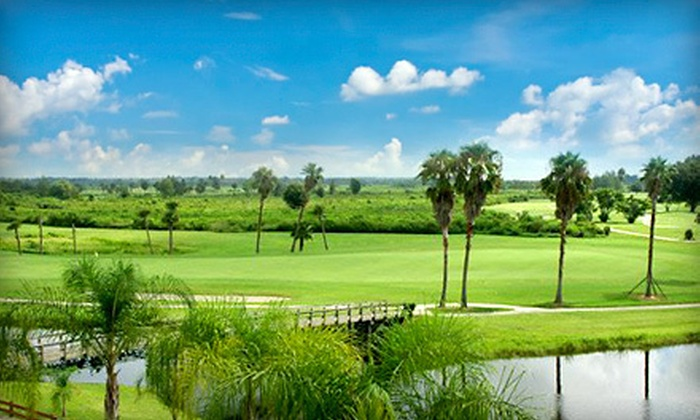 Spring Lake Golf Resort - Sebring: One-Night Stay for Two with Golf, Food, and Optional Golf Lesson at Spring Lake Golf Resort (Up to 54% Off)