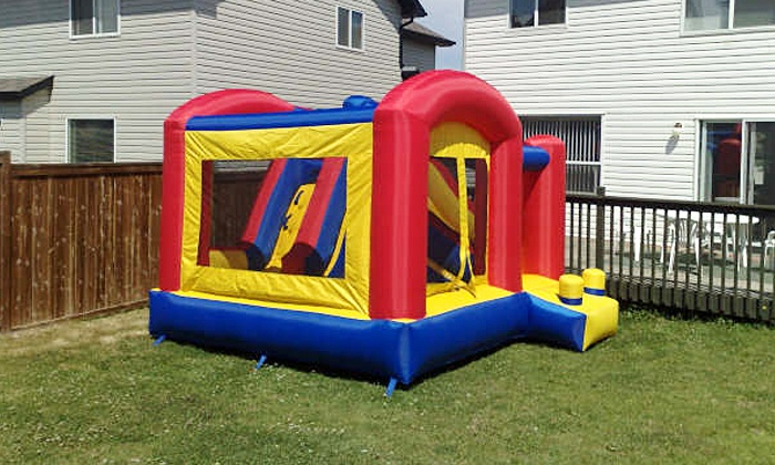 Edmonton Party Rental - Edmonton: C$199 for a Themed Party Package with Bounce House for Up to 16 Kids from Edmonton Party Rental (C$399 Value)