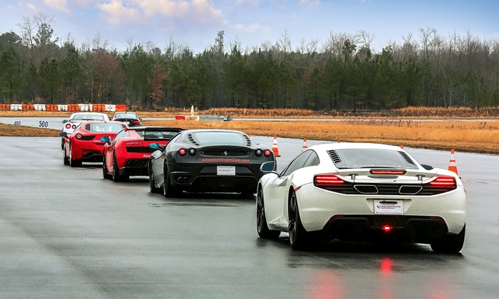Adventure Supercars - Atlanta Motorsports Park: Exotic-Car Driving Experience or Ride-Along from Adventure Supercars (Up to 51% Off). 14 Options Available.