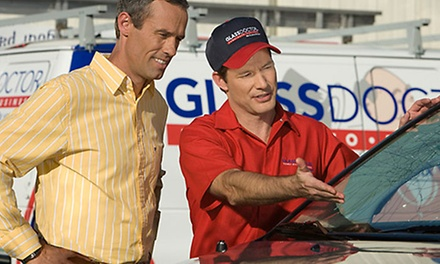 Three Rock-Chip Repairs, Windshield Replacement, or Retrofit Glass Services at Glass Doctor (Up to 53% Off)