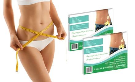 24-Pack of Guarana & Vitamin B12 Slimming Patches