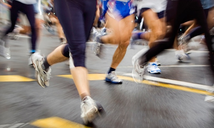 Rogue Running - Multiple Locations: One Month of Austin Half-Marathon Training for One or Two at Rogue Running (Up to 55% Off)